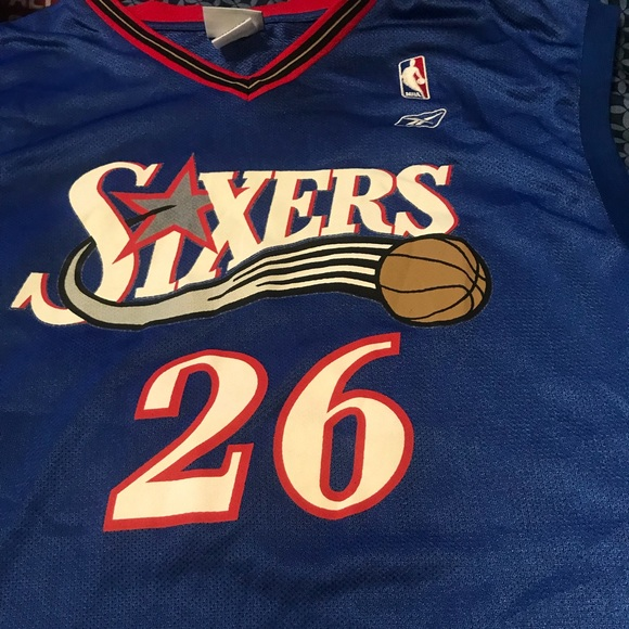 sports shoes 10a68 46c45 Sixers Jersey